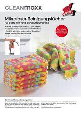 Clean Maxx Mikrofaser-Reinigungstücher 10er Set, Mirkrofasertücher, TV Werbung