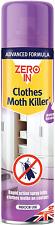 STV International ZER434 Zero In Clothes Moth Killer, 300ml