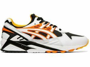 ASICS Tiger Men's GEL-Kayano Trainer Shoes sneakers size 11 white orange new