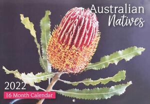 2022 Wall Calendar Australian Natives 16 Month Planner Christmas New Year Gift