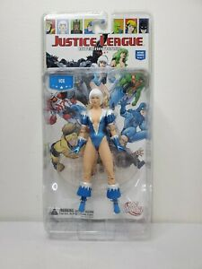 """DC Comic Direct Collectibles Justice League International Series 1 ICE 7"""" Figure"""