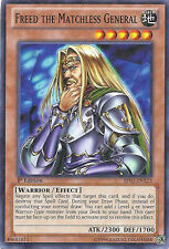 Freed the Matchless General - BP01-EN123 - Starfoil Rare - 1st Edition x3