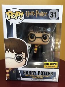 Funko POP! Vinyl Harry Potter: Harry w/ Hedwig #31 Hot Topic EXCLUSIVE - NEW!!!