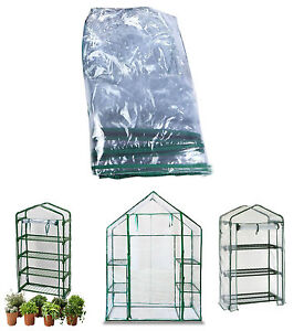 Replacement Spare PVC Cover for Walk In Greenhouse Green House Garden 3 4 TIER