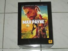 Max Payne 3: Special Edition PAL Unopened Sealed Microsoft 360 FREE SHIPPING