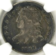 🌚🌫🌫🗽💙NGC XF40 SMALL 10 C. JR4 1829 CAPPED BUST DIME