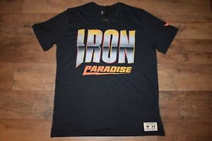 Under Armour Men's Project Rock Dare To Fail T-Shirt 3557 Size M (Black) NWT