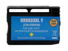 For HP 933Y XL Yellow Inkjet Cartridge CN056AN; HP Officejet 6100 6600 6700