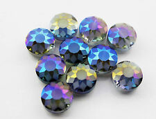 New Diameter 14mm Faceted Cone Body Glass Crystal Loose Beads 5pcs