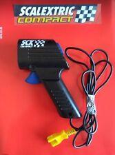 SCX Compact MANDO TURBO GATILLO AZUL 1:43 scalextric compact COMO NUEVO!!!!