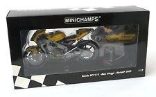 Minichamps 1:12 HONDA rc211v MAX BIAGGI MOTOGP 2003 RIF. 122 037103