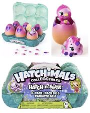 Hatchimals Colleggtibles Surprise Egg UNICORN 6 Pack Hatch N' Seek Hatch-n-seek
