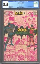 Batman #200 CGC 8.5 (1968) White Pages - Scarecrow appearance (Neal Adams cover)