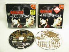 BIOHAZARD Resident Evil CODE VERONII No Box Dreamcast Sega Import Japan Game dc