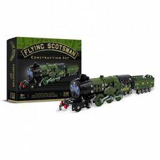 Train a vapeur Scotsman kit de construction en métal style mécano 340 pieces