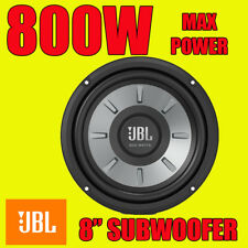 "JBL Stage 8"" 20cm Car Sub Bass Subwoofer 4-ohm 800W Max Power New"