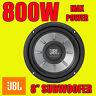 "JBL Stage 8"" 20cm Car Sub Bass Subwoofer 4-ohm 800W Max Power New"