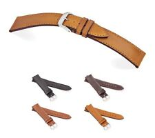 "RIOS1931 Shell Cordovan Watch Band ""Seattle"", 18-20 mm, 4 colors, new!"