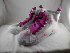 Exclusive Disney Parks Minnie Mouse high top tie dyed sneakers size 4