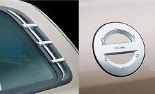 Hyundai Santa Fe 2001-2006 Chrome C pilier et carburant porte couverture ensemble