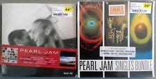 "Pearl Jam No Code, Yield, Binaural Riot Act Avocacdo 7"" Singles Bundle LOT NEW"