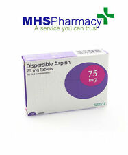 Aspirin 75mg Dispersible Tablets (28) three packs of 28