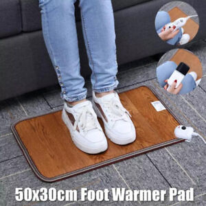 Leather Heating Foot Mat Warmer Electric Heating Pads 220VLX