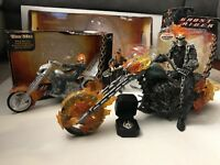 Hasbro Ghost Rider Lot of 7 Ultimate Ghost Rider, Flame Cycle, Stunt Set & More!