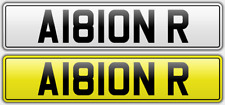 ALBION WBA WEST BROM ALBION BAGGIES THROSTLES CHERISHED NUMBER PRIVATE PLATES