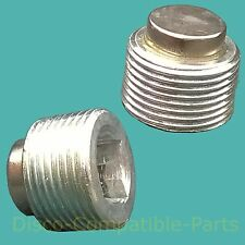 Range Rover P38 Magnetic Differential Filler Level & Drain Plug By Bearmach