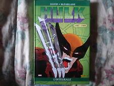 MARVEL STRANGE integrale Hulk 1987 1988 AVENGERS WOLVERINE COMICS PANINI SERVAL