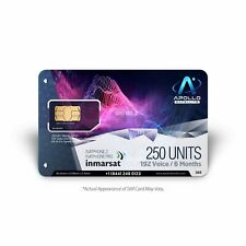IsatPhone 250 Unit Inmarsat Prepaid SIM Card