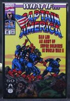 "What If #28 Comic Book Cover 2"" X 3"" Fridge / Locker Magnet. Captain America"
