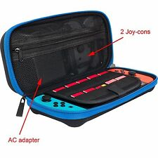 Nintendo Switch Travel Carry Case witch AC Adapter/Game Cards /Accesorriies room