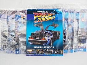 DeLorean aus Zurück in die Zukunft 1:8 Eaglemoss div. Ausgaben zur Auswahl 1-103