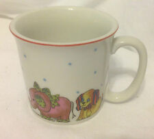 LUCY RIGG RIGGLETS SMALL CHILD'S MUG CUP VINTAGE 1979 COFFEE MILK HOT CHOCOLATE