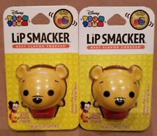 New 2 Disney Tsum Tsum Lip Smacker Lip Balm Honey Pot Flavor POOH .26 oz
