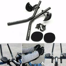 Road Mountain Bike Bicycle Alloy Triathlon Hand Rest Handle Bar Clip On Tri Bars