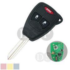 Remote Key Case 315 MHz w/ Chip fit for Chrysler Dodge Jeep FCCID head of OHT