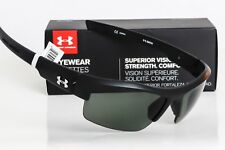 03b40ea4fa Under Armour Igniter Sunglasses Satin Black   Grey Polarized Lens