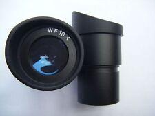 1 Pair WF10X 30mm Mount  Eyepiece W/Eyecup For Binocular Stereo Microscope