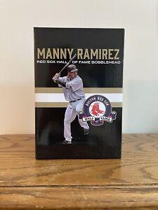 Manny Ramirez Hall Of Fame Bobblehead Figure Boston Red Sox Giveaway HOF BNIB