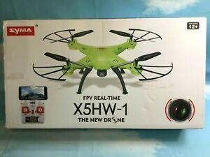 Syma X5HW-1 WiFi FPV Quadocpter Drone FPV Camera Altitude Hold Headless Mode RTF