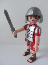 Playmobil Roman Soldier/Gladiator figure with helmet & sword (brown hair) NEW