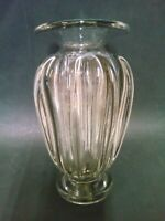 Vase Crystal Blow Daum Nancy Art Deco Height 9 5/8in