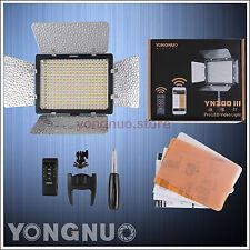 YONGNUO YN 300 III Pro 5500k LED Video Light for Studio DSLR 4400mah Battery AU