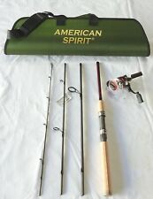 """Travel Spinning Combo Series 6'6"""" 4PC/ 5BB Reel"""