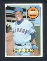 1969 Topps #147 Leo Durocher EX+ Cubs MG 125099