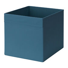 Ikea 4 Drona Storage Organizers Box Dark Blue Fits in Kallax Insert New