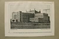 BB3) Architektur Nauen 1925 Telefunkenstation Hermann Muthesius Übersehverkehr